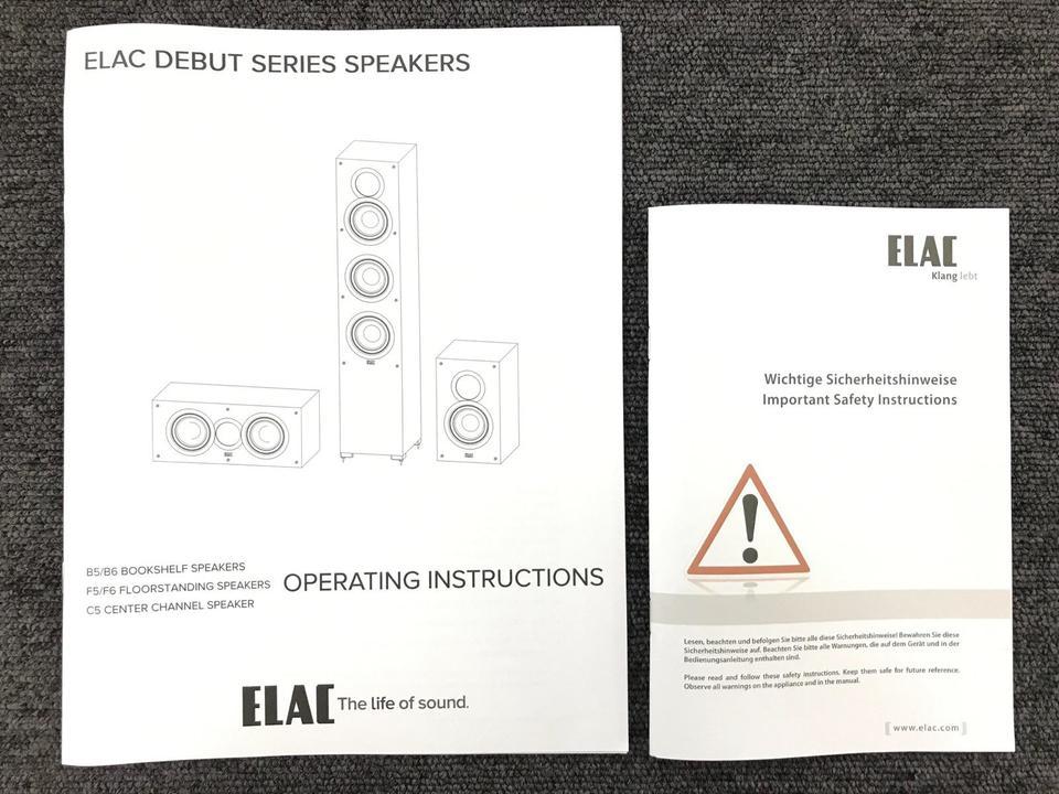 DEBUT C5 ELAC 画像