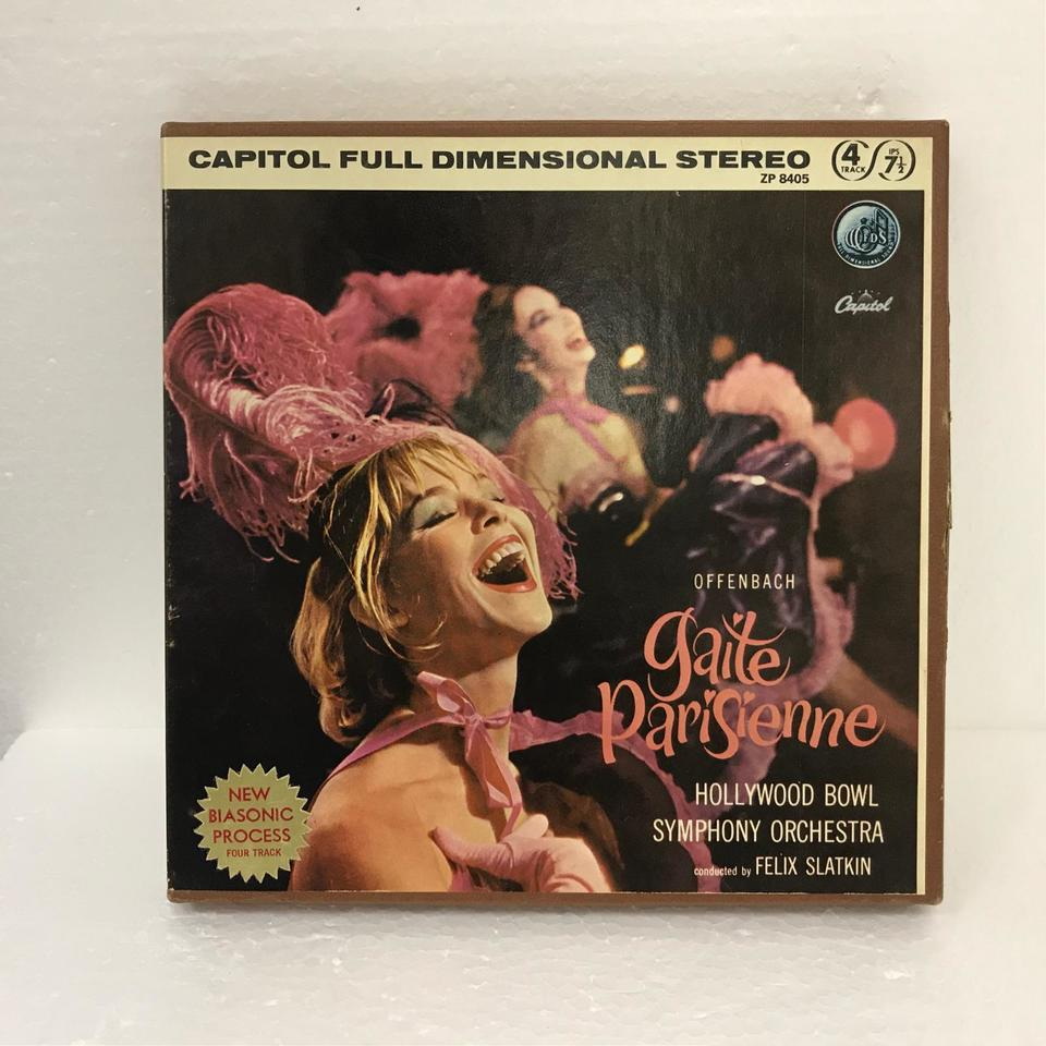 OFFENBACH:GAITE PARISIENNE/THE HOLLYWOOD BOWL SYMPHONY ORCHESTRA THE HOLLYWOOD BOWL SYMPHONY ORCHESTRA 画像