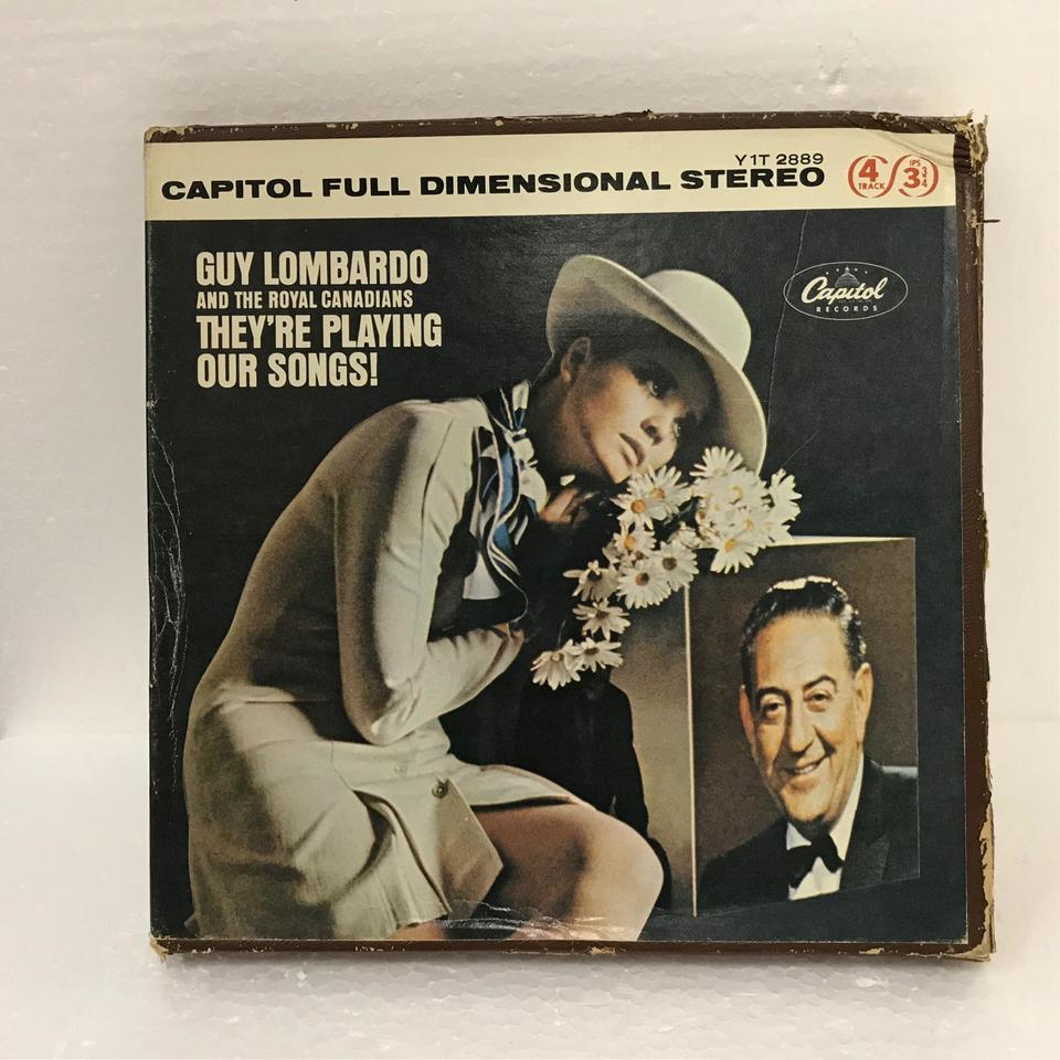 ...THEY'RE PLAYING OUR SONGS!/GUY LOMBARDO AND THE ROYAL CANADIANS GUY LOMBARDO AND THE ROYAL CANADIANS 画像