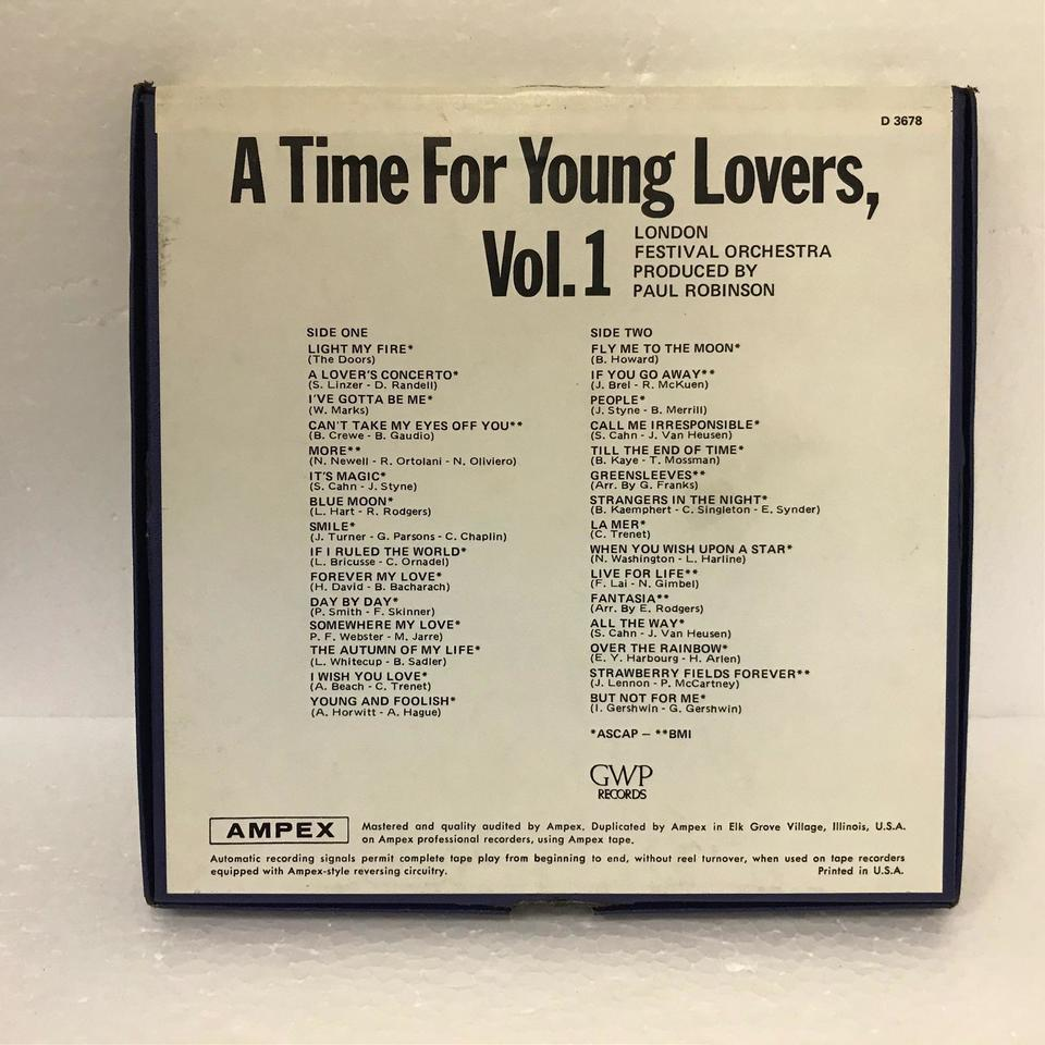A TIME FOR YOUNG LOVERS, VOL.1/LONDON FESTIVAL ORCHESTRA LONDON FESTIVAL ORCHESTRA 画像