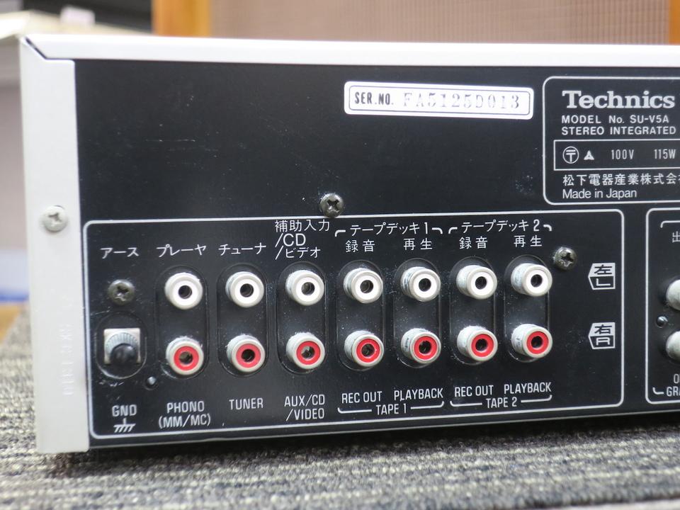 SU-V5A Technics 画像