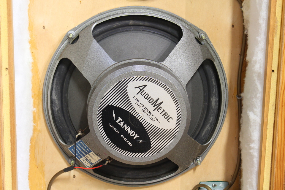 AUDIO METRIC SPEAKERS TANNOY 画像