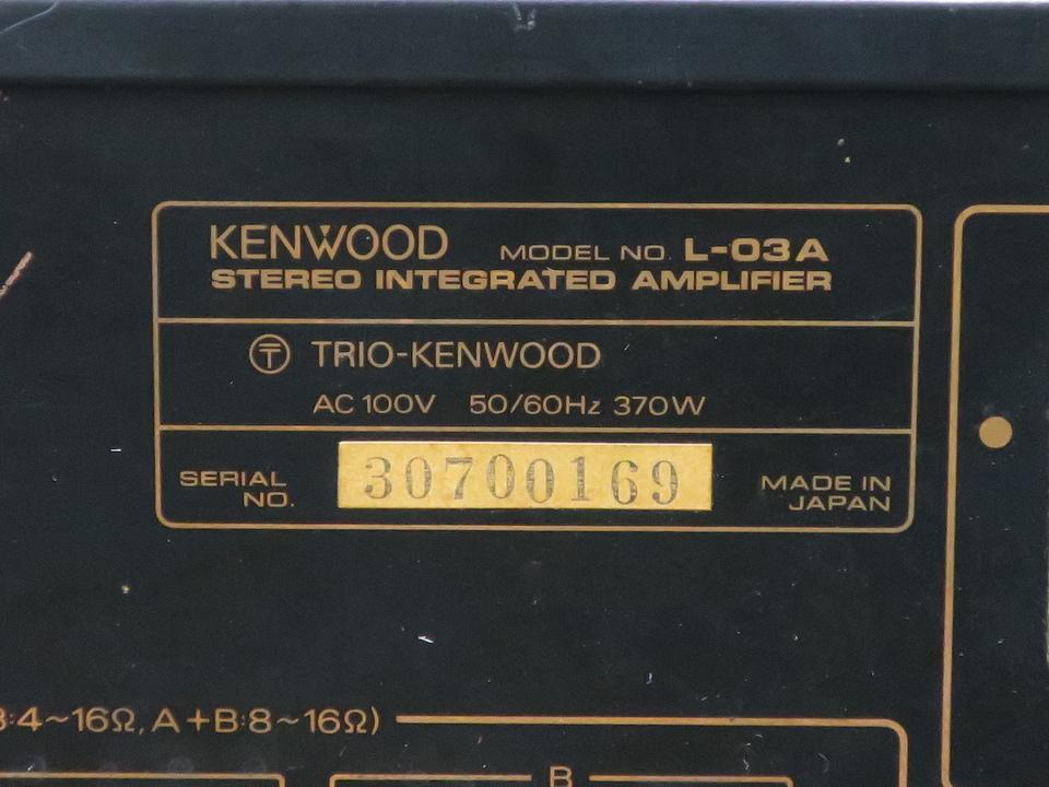 L-03A KENWOOD 画像