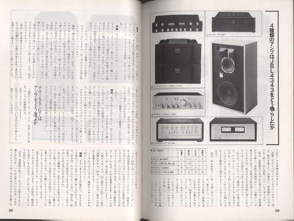 コンポーネントステレオの世界 別冊 '79  画像