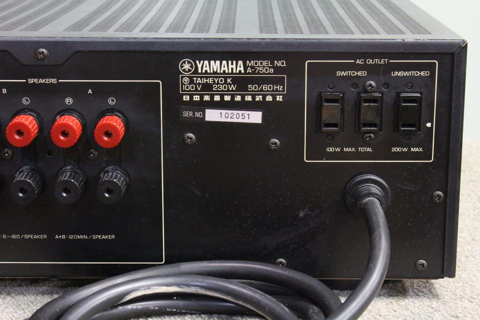 A-750a YAMAHA 画像