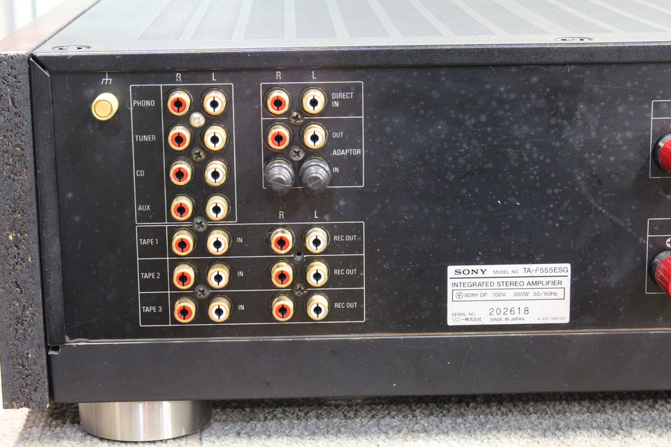 TA-F555ESG SONY 画像