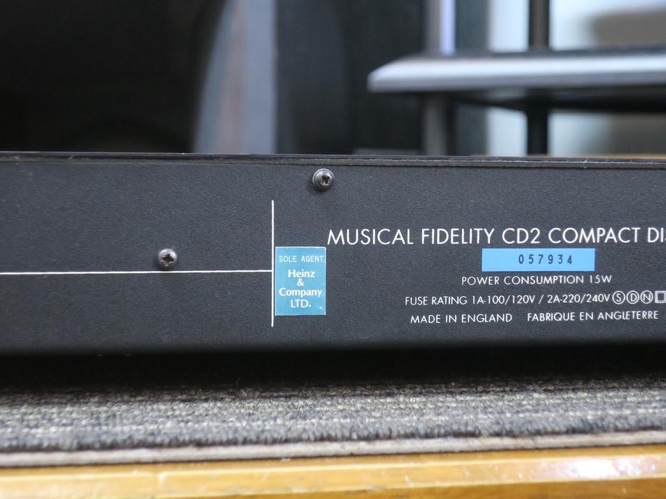 CD2 WOOD MUSICAL FIDELITY 画像