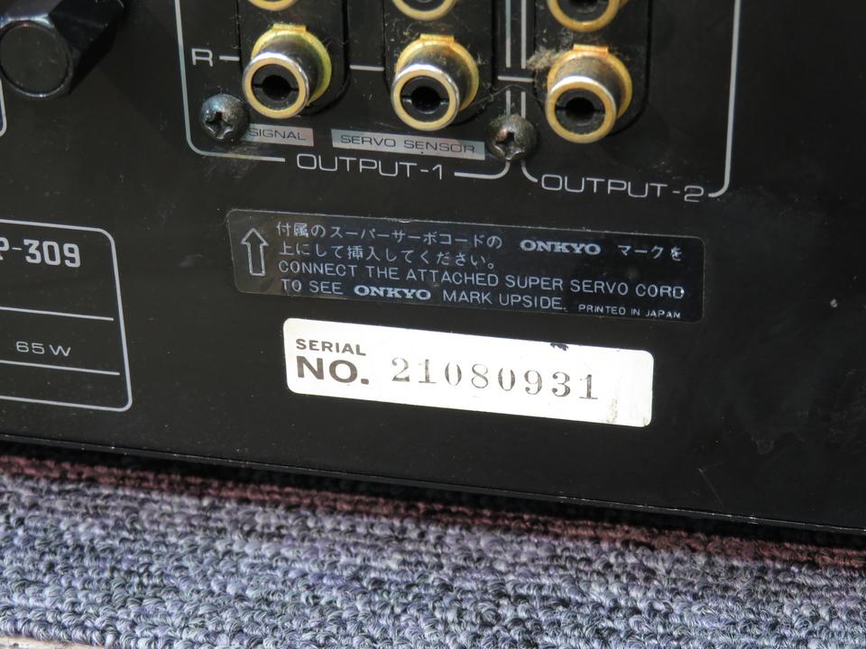 Integra P-309 ONKYO 画像