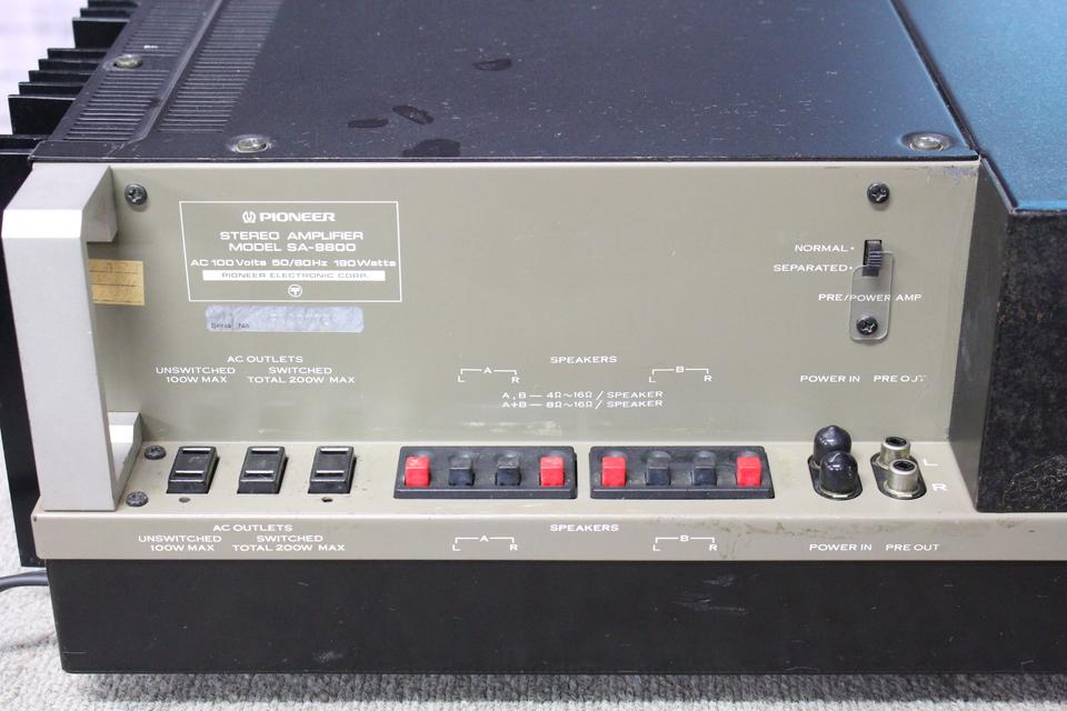 SA-9800 PIONEER 画像