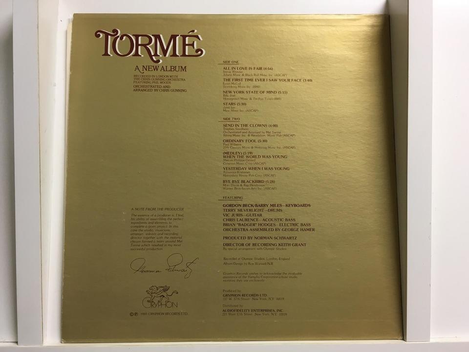 メル・トーメ(輸入盤)6枚セット  画像