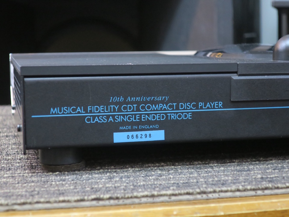 CDT-S Musical Fidelity 画像