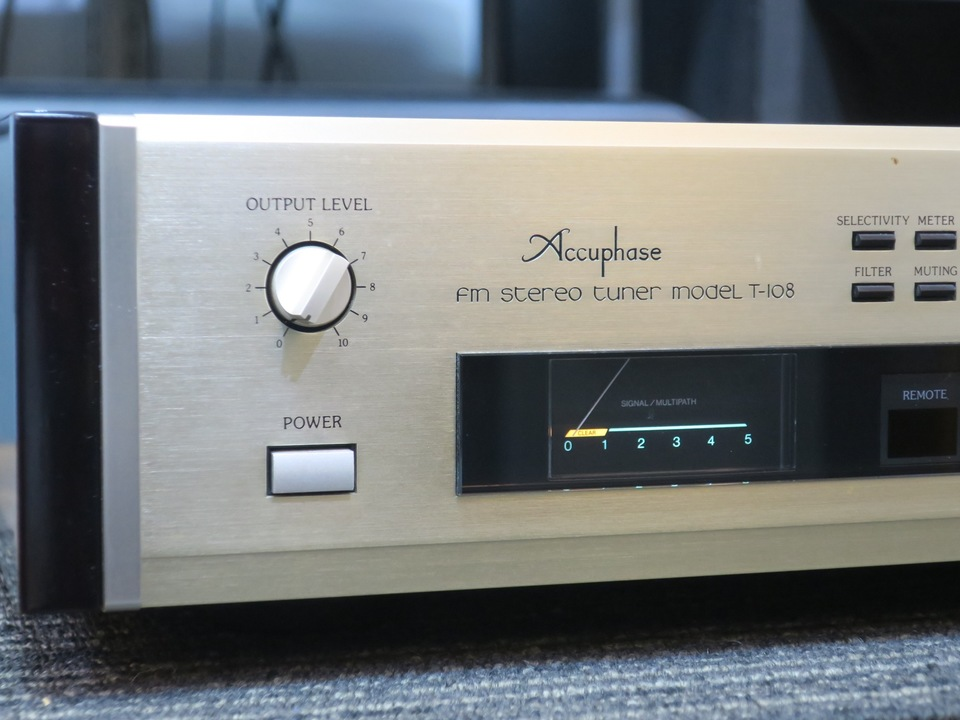 T-108 Accuphase 画像