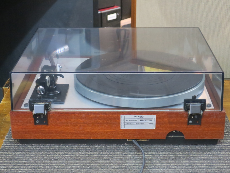 TD-160 Super+RS-212 THORENS 画像