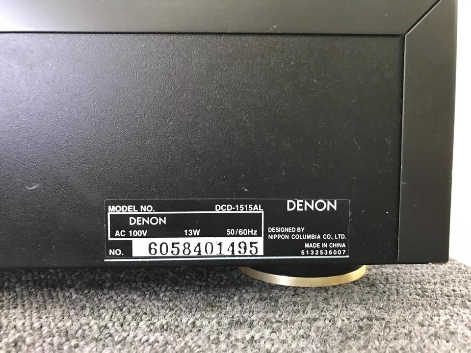 DCD-1515AL DENON 画像