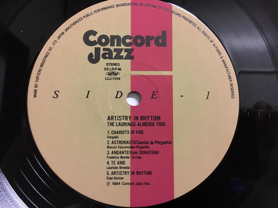 CONCORDレーベル5枚セット  画像