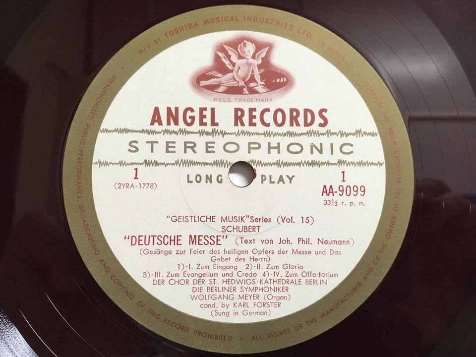 ANGELレコード(赤盤)5枚セット  画像