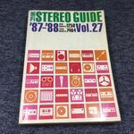 HI-FI STEREO GUIDE VOL.27 '87-'88