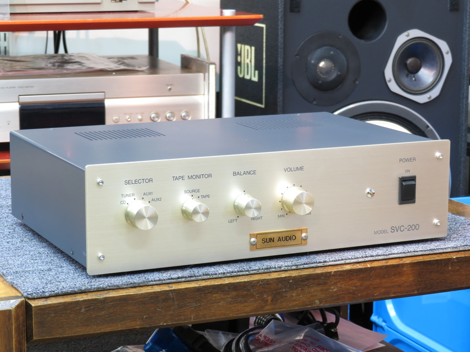 SVC-200 SUN AUDIO 画像