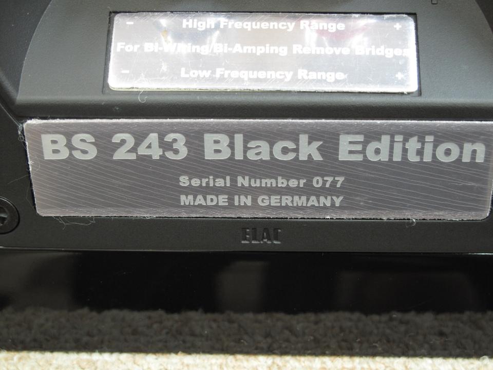 BS243 BE ELAC 画像