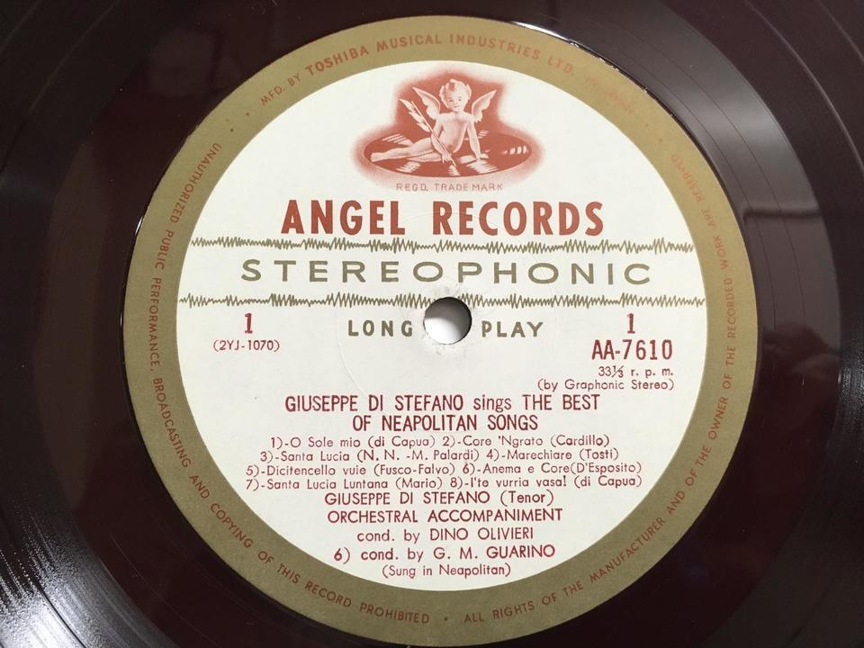 ANGELレーベルの名歌手たち(赤盤)5枚セット  画像