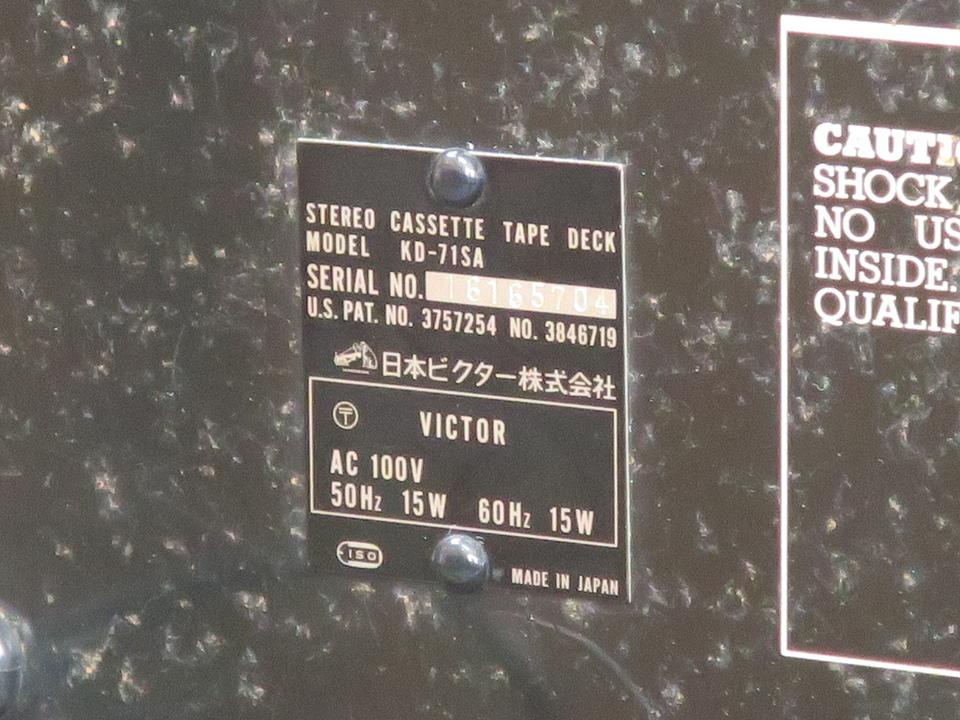 KD-71SA VICTOR 画像