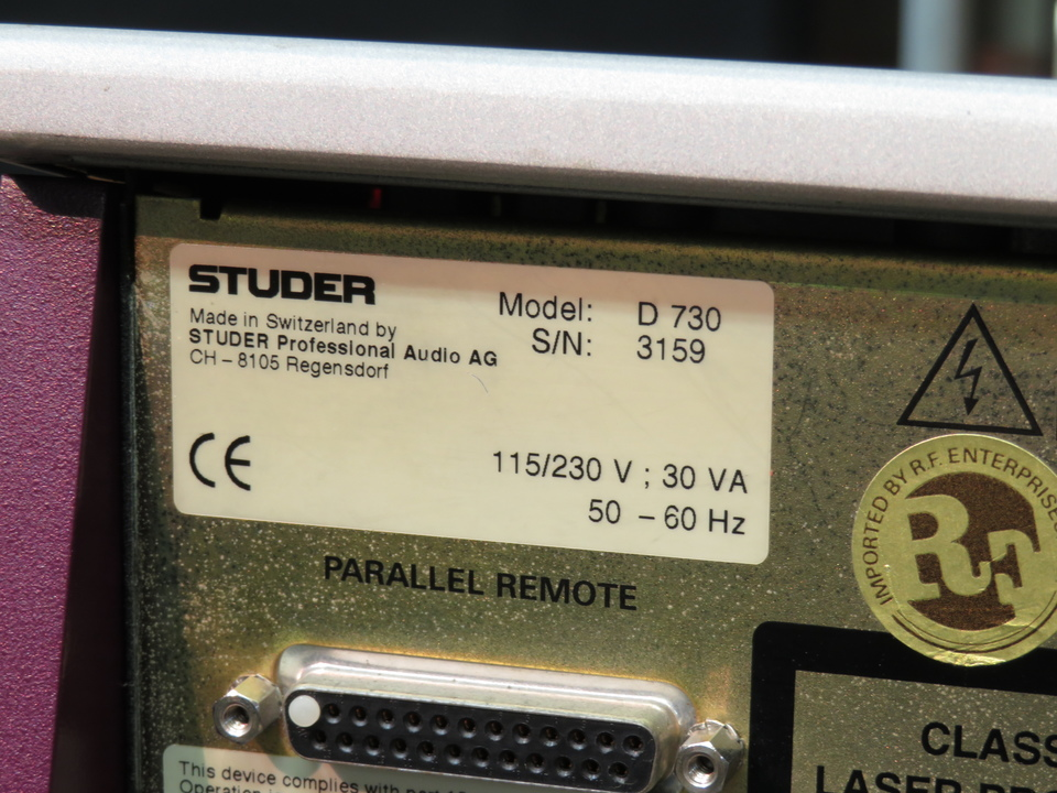 D730MK2 STUDER 画像
