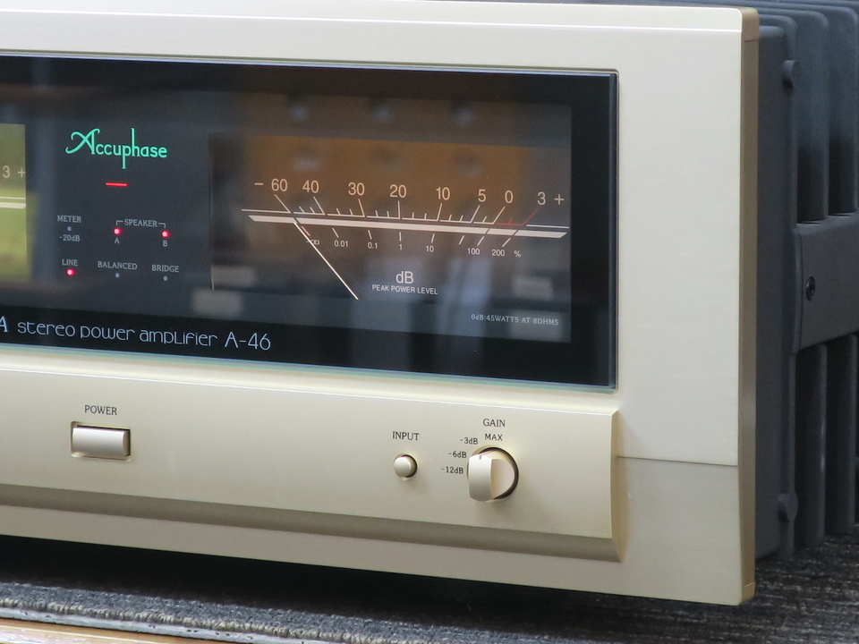 A-46 Accuphase 画像