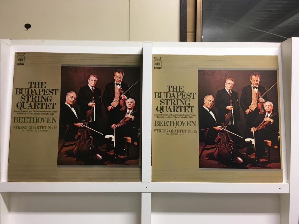 ブダペスト弦楽四重奏団5枚セット  画像