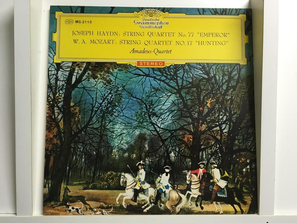 アマデウス弦楽四重奏団5枚セット  画像