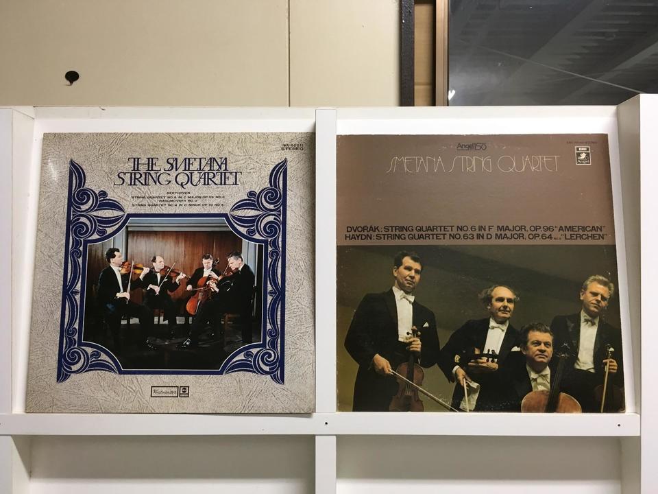 スメタナ弦楽四重奏団5枚セット  画像