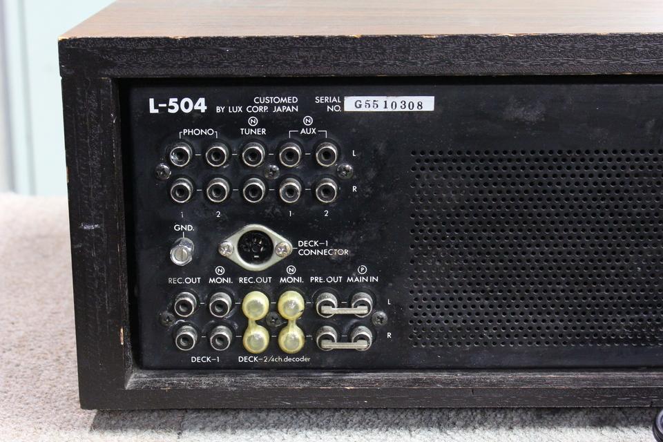 L-504 LUXMAN 画像