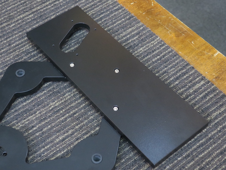 Unity-Two Sub-Chassis Upgrade with VP-2 Arm Board Vinyl Passion 画像