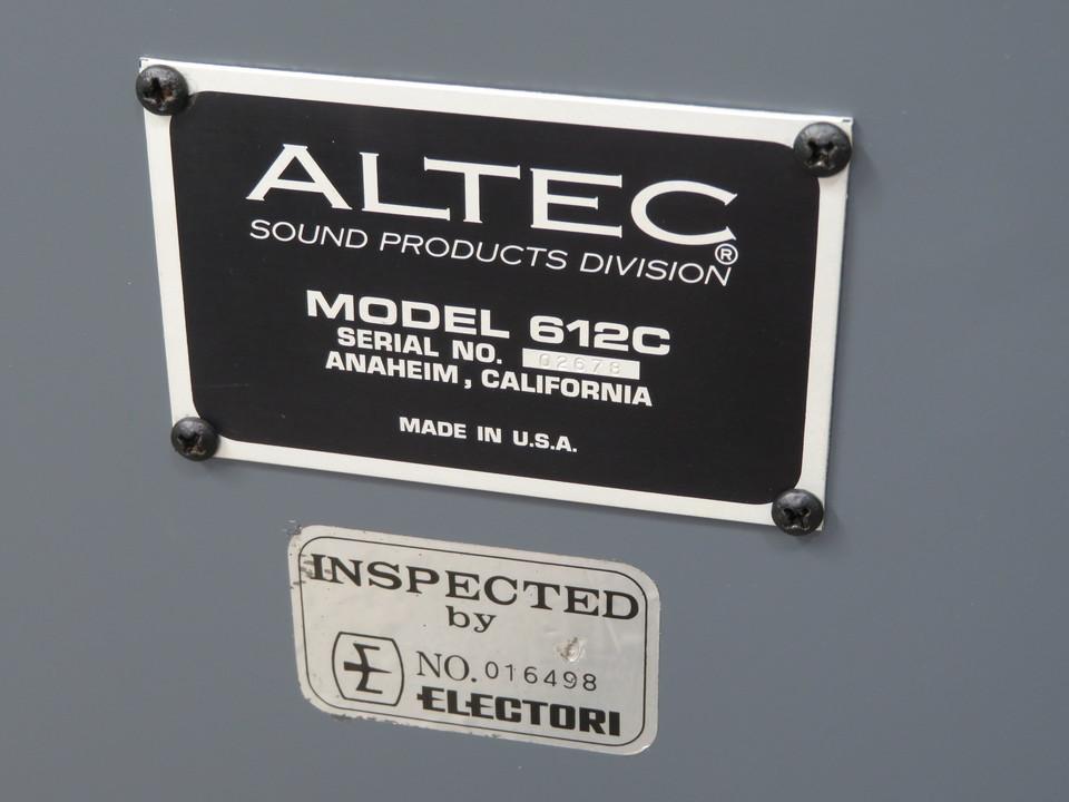 612C ALTEC 画像