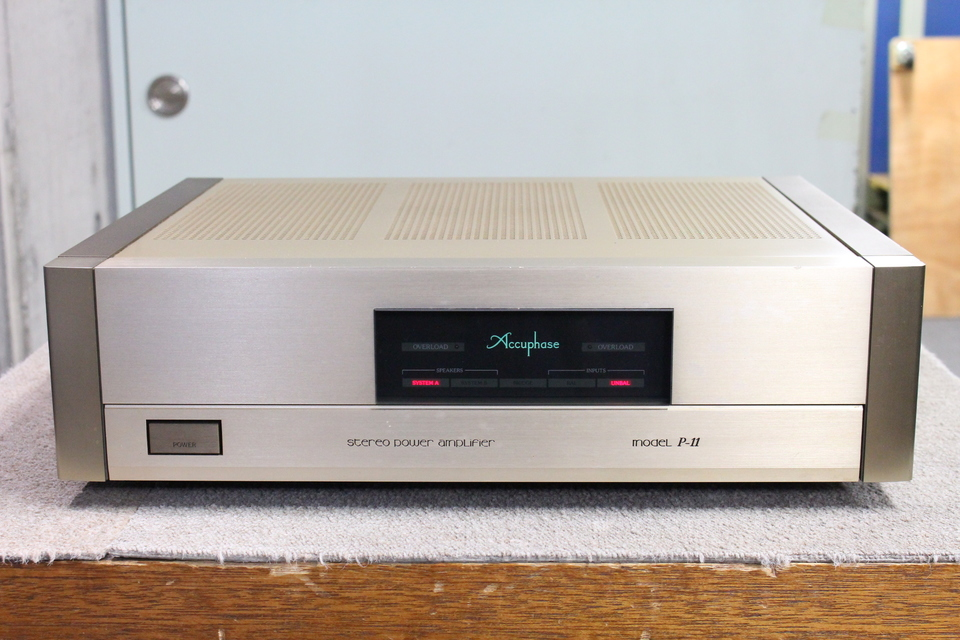 P-11 Accuphase 画像