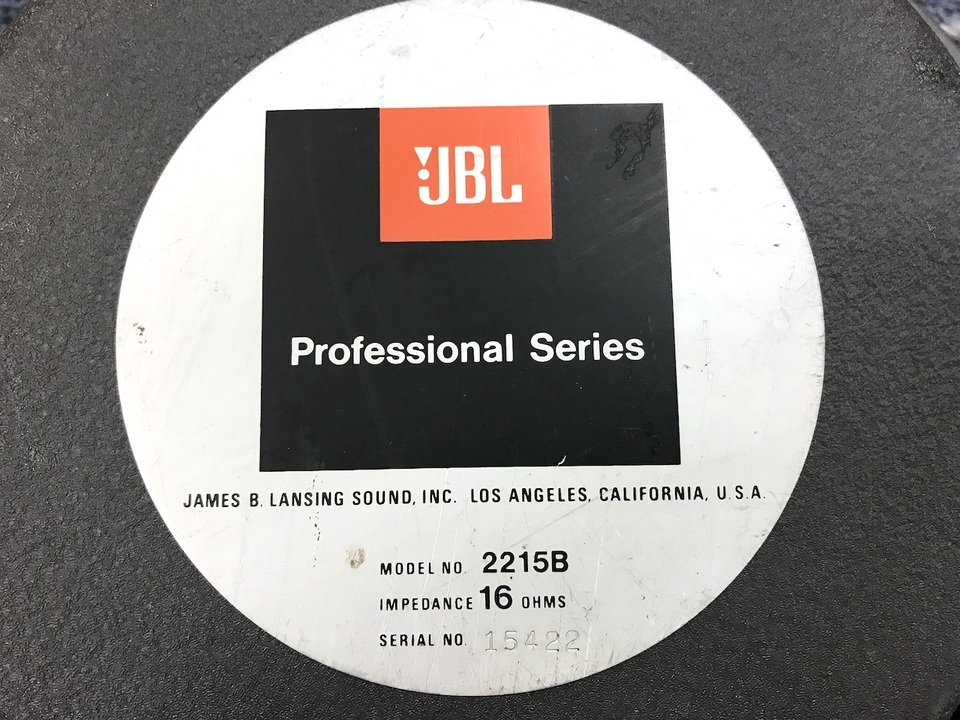 2215B JBL 画像