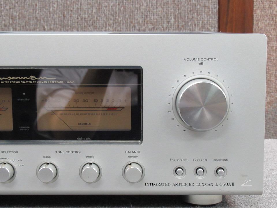 L-550A2 LUXMAN 画像