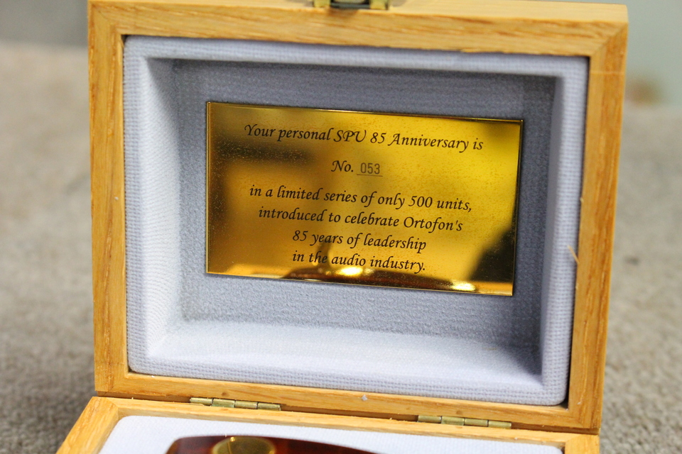 SPU85 Anniversary ortofon 画像