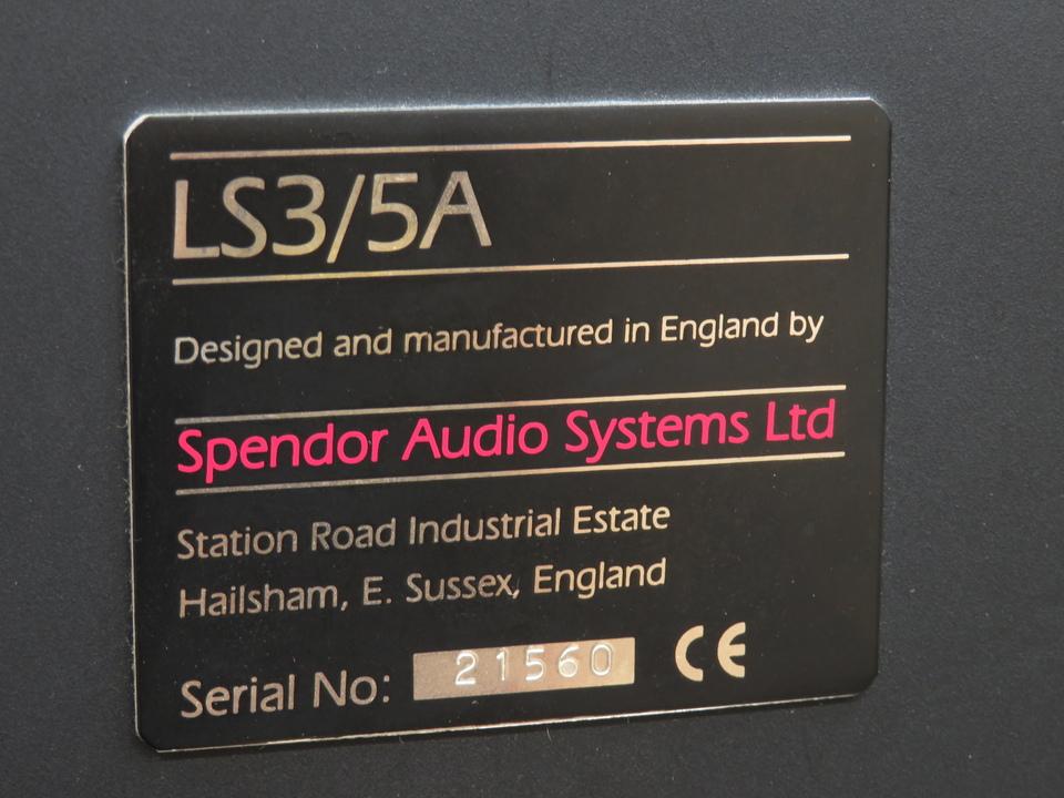 LS3/5A Spendor 画像