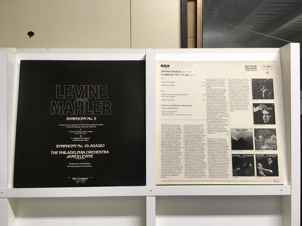ジェームズ・レヴァイン10枚セット  画像