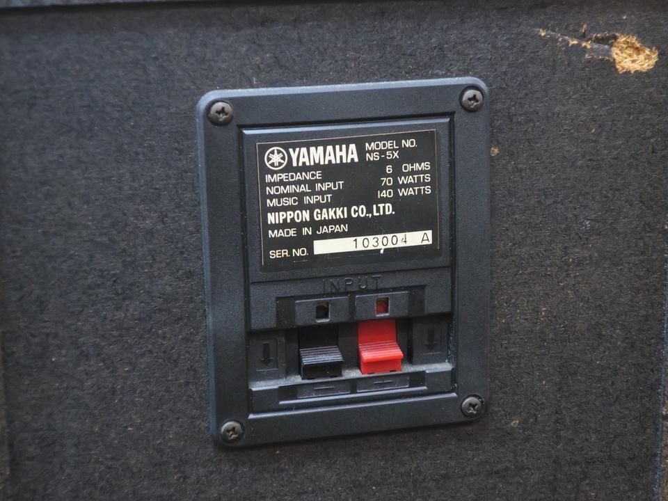 NS-5X YAMAHA 画像