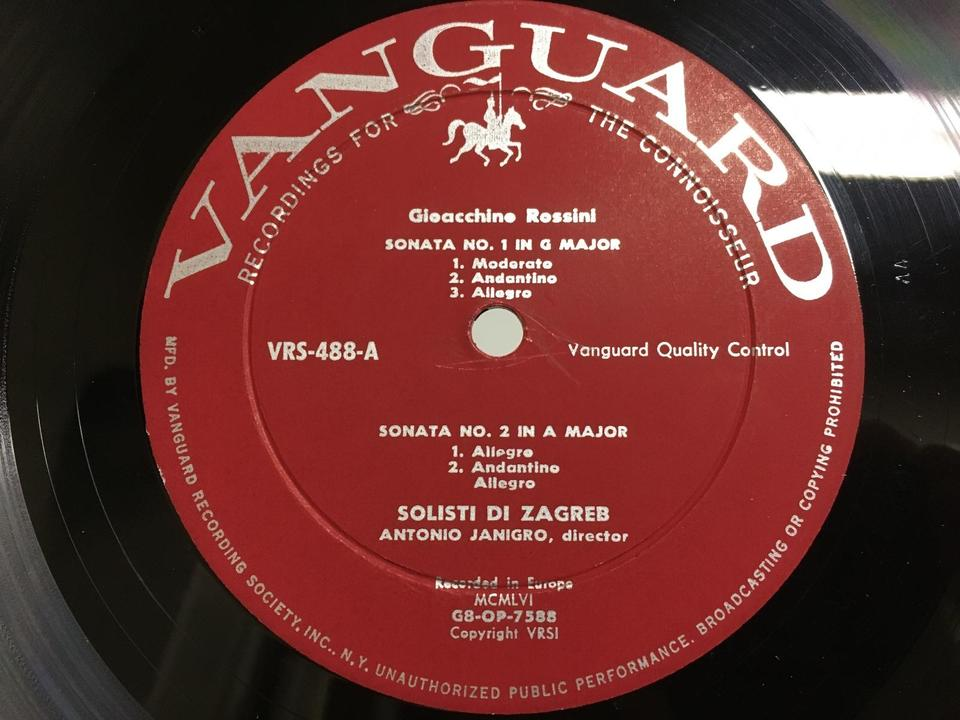VANGUARDアメリカ(輸入盤)5枚セット  画像