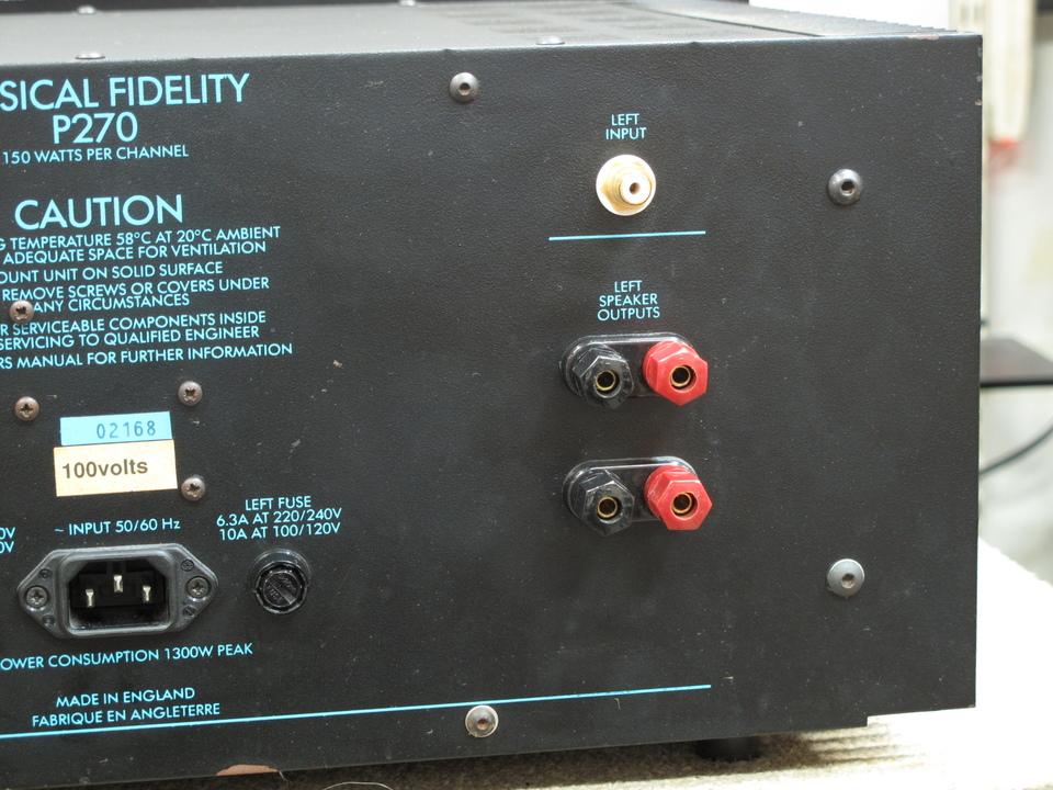 P270-2 Musical Fidelity 画像