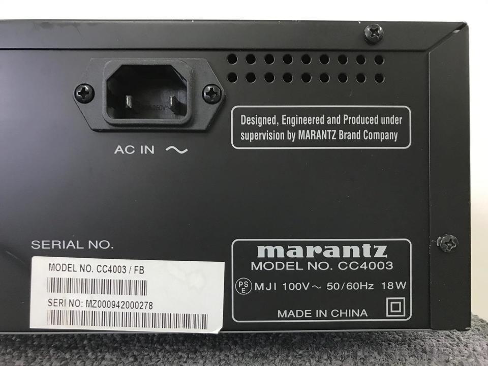 CC4003 marantz 画像