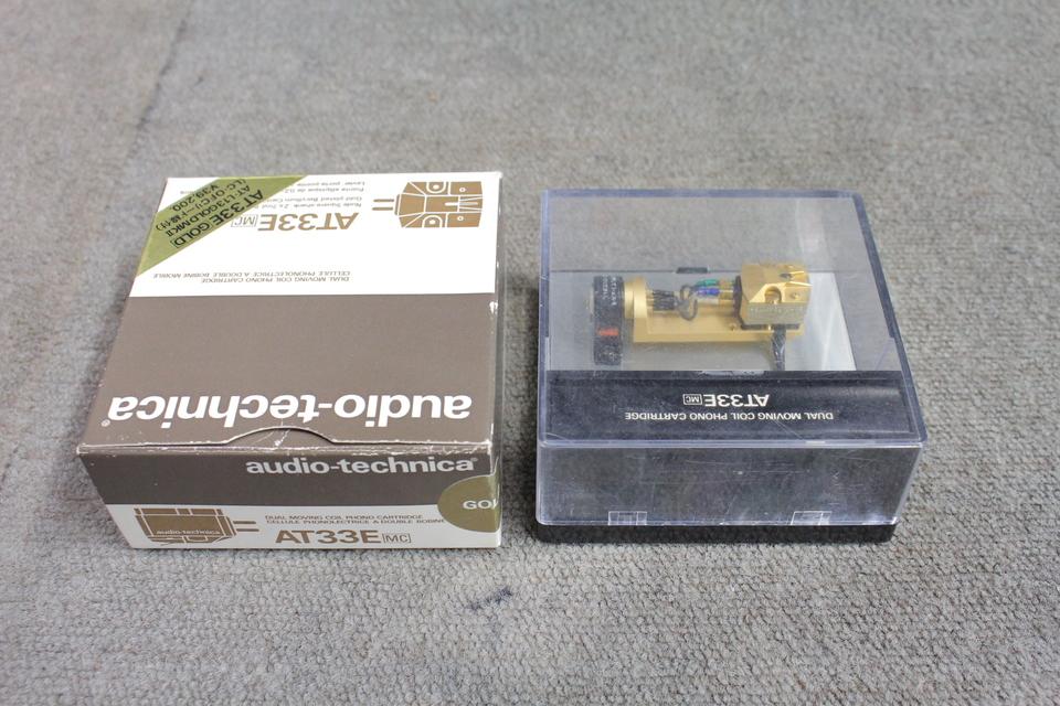 AT33E+AT-L13GOLD MK2 audio-technica 画像