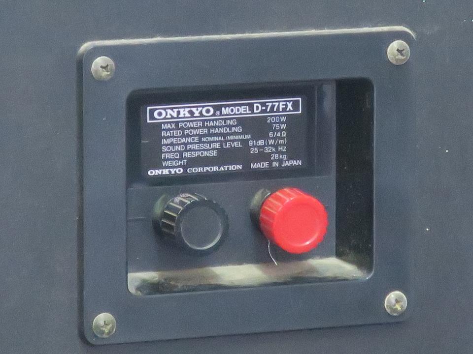 D-77FX ONKYO 画像