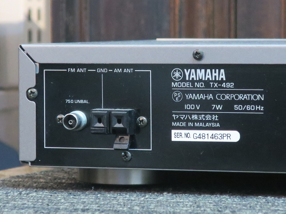 TX-492 YAMAHA 画像