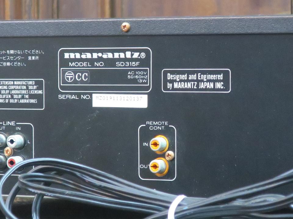 SD315 marantz 画像