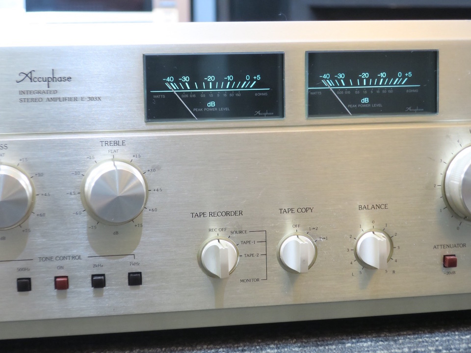 E-303X Accuphase 画像