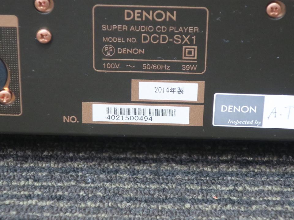 DCD-SX1 DENON 画像