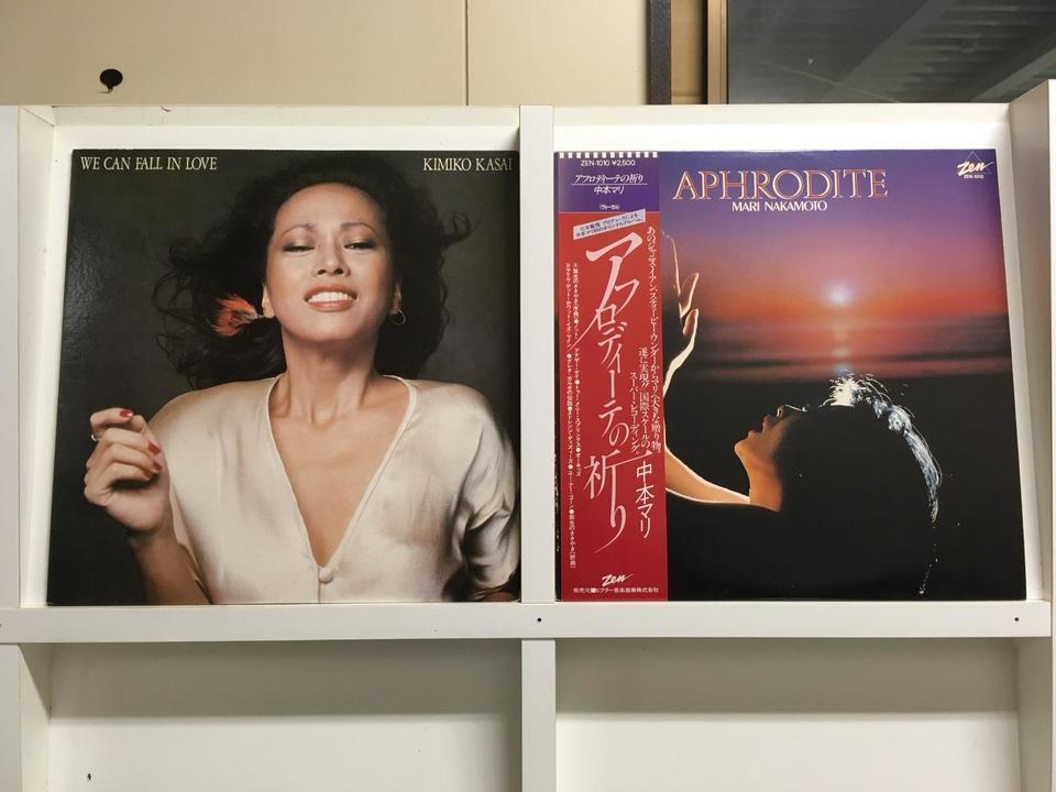日本のジャズ 女性ボーカル5枚セット  画像
